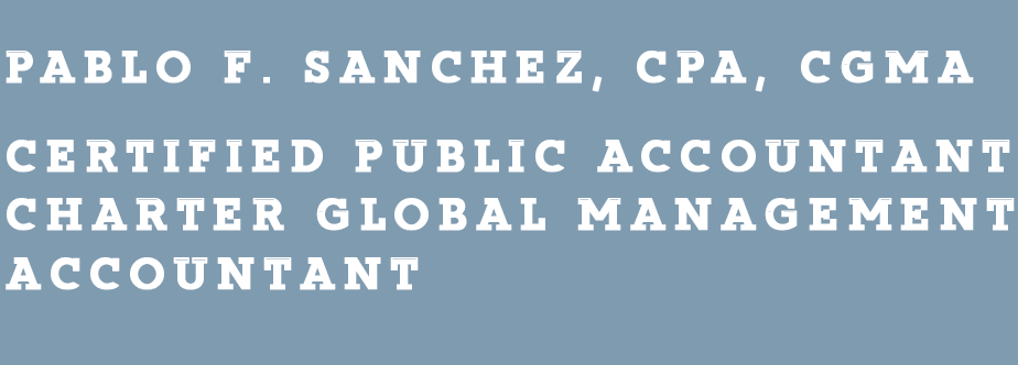 Income Tax Accountant | Woodside, NY | Pablo F  Sanchez, CPA